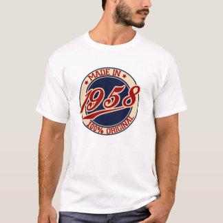 1958年に作られる Tシャツ