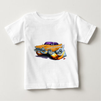 1958年のプリマスの激怒のオレンジ車 ベビーTシャツ
