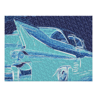 1958_Cadillac_Deville1 ポスター