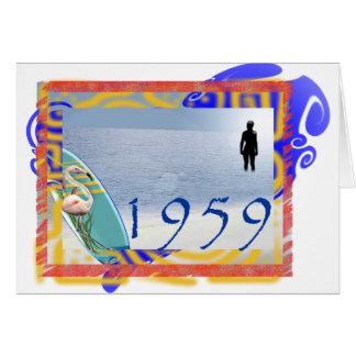 1959ビーチ カード