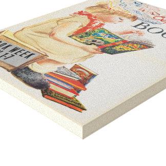 1959人の児童読書週間のキャンバス キャンバスプリント