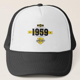 1959年に生まれて下さい(choco&yellow) キャップ