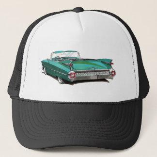 1959年のキャデラックのティール(緑がかった色)車 キャップ