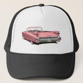 1959年のキャデラックのピンク車 キャップ
