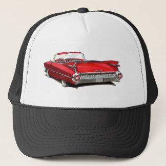 1959年のキャデラックの赤車 キャップ