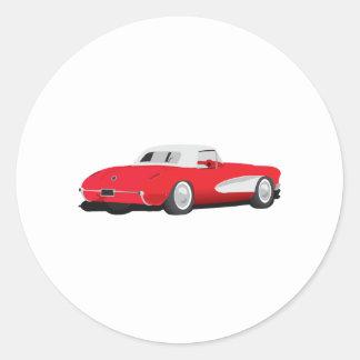 1959年のコルベット ラウンドシール