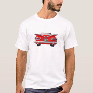 1959年のシボレーChevyのインパラのパスの羨望 Tシャツ