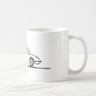 1959 1960年のシボレー・コルベットHardtop コーヒーマグカップ