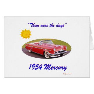 195 4Mercury カード