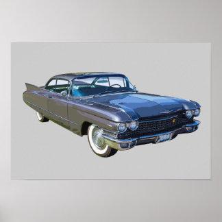 1960年のキャデラックの贅沢車 ポスター