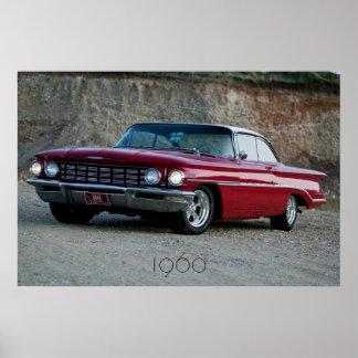 1960年のOldsmobileの日没ポスター ポスター