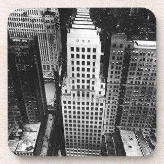 1960年:  シカゴの超高層ビルの空中写真 コースター