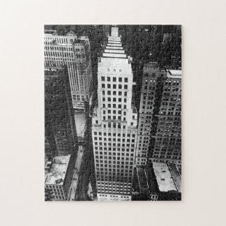 1960年:  シカゴの超高層ビルの空中写真 ジグソーパズル