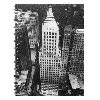 1960年:  シカゴの超高層ビルの空中写真 ノートブック