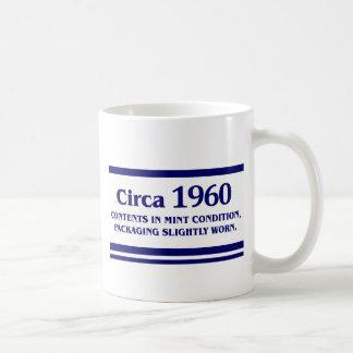 1960年、第50誕生日 コーヒーマグカップ