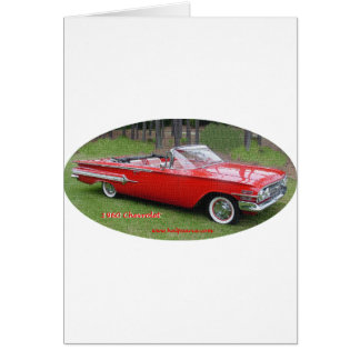 1960_Chevrolet_Impala カード