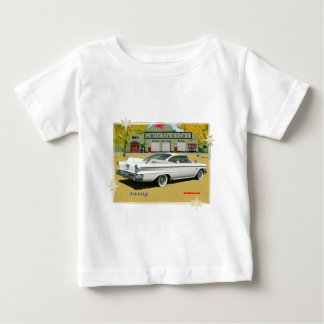 1960_Dodge_White ベビーTシャツ