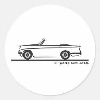1961の勝利の布告者のコンバーチブル ラウンドシール