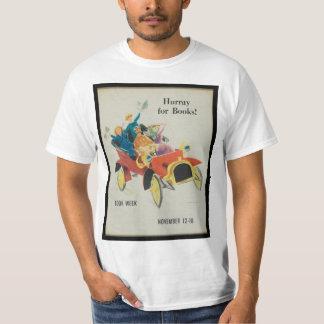 1961人の児童読書週間のワイシャツ Tシャツ