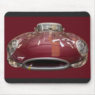 1961年からEタイプクラシックなジャガー マウスパッド