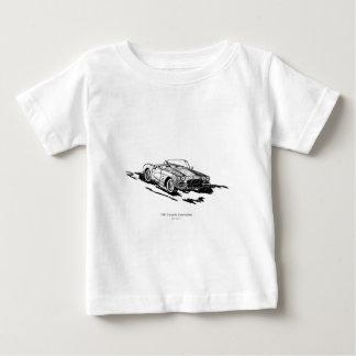 1961年のコルベットのコンバーチブル ベビーTシャツ