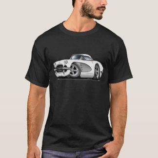 1961年のコルベットの白銀車 Tシャツ