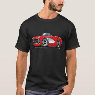 1961年のコルベットの赤いコンバーチブル Tシャツ