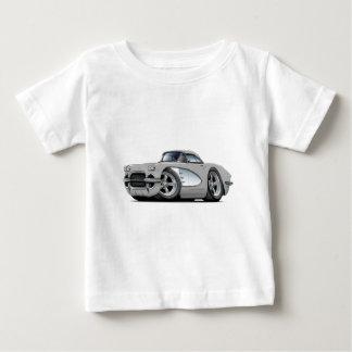 1961年のコルベットの銀製車 ベビーTシャツ
