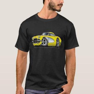 1961年のコルベットの黄色い車 Tシャツ