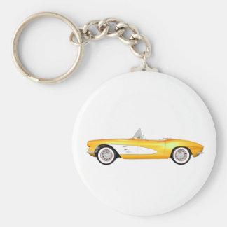 1961年のコルベットC1: 黄色い終わり: キーホルダー