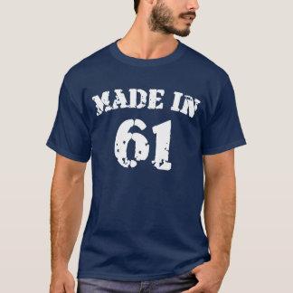 1961年のワイシャツで作られる Tシャツ