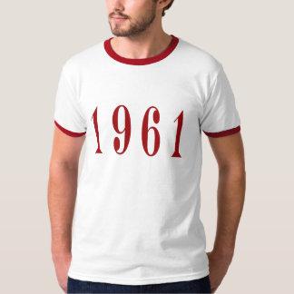 1961年のTシャツに文字を加えて下さい Tシャツ