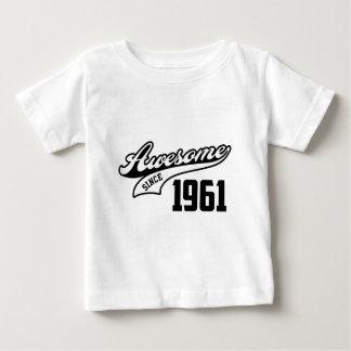 1961年以来素晴らしい ベビーTシャツ