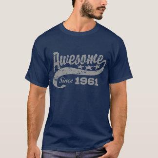 1961年以来素晴らしい Tシャツ