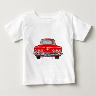 1961赤シボレー ベビーTシャツ