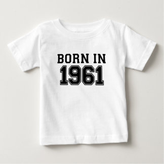 1961.pngで生まれて下さい ベビーTシャツ