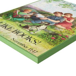 1962人の児童読書週間のキャンバス キャンバスプリント