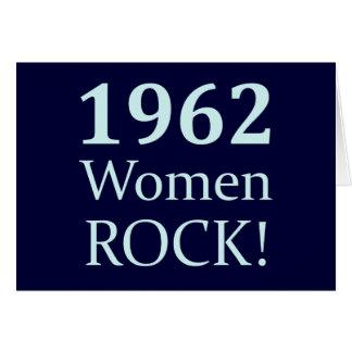 1962人の女性の石、第50誕生日 カード