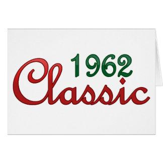 1962年のクラシック カード