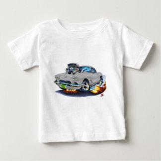 1962年のコルベットの灰色車 ベビーTシャツ