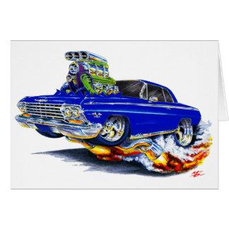 1962-63年のインパラの濃紺車 カード