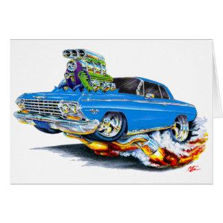 1962-63年のインパラの青車 カード
