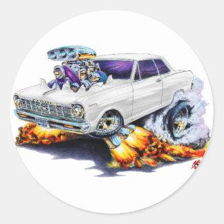 1962-65年の新星の白車 ラウンドシール