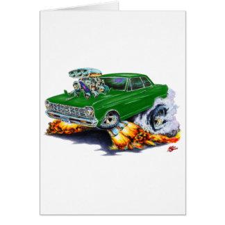 1962-65年の新星の緑車 カード