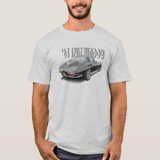 1963割れた窓のコルベットのTシャツ Tシャツ