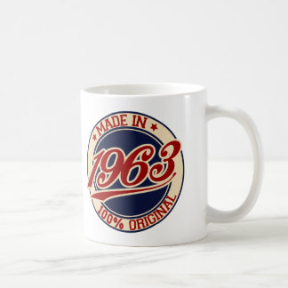 1963年に作られる コーヒーマグカップ