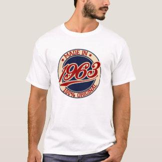 1963年に作られる Tシャツ