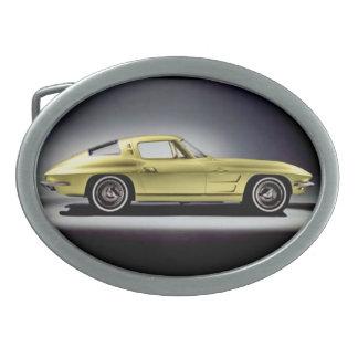 1963年のコルベットのアカエイのベルトの留め金 卵形バックル