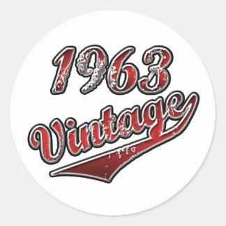 1963年のヴィンテージ ラウンドシール