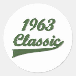 1963年のCassic ラウンドシール